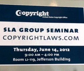 Course held at U.S. Copyright Office