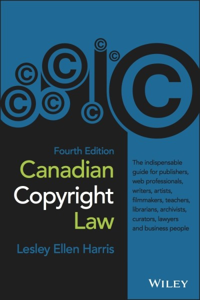 Canadian Copyright Law Book Covers, Editions 1 – 4