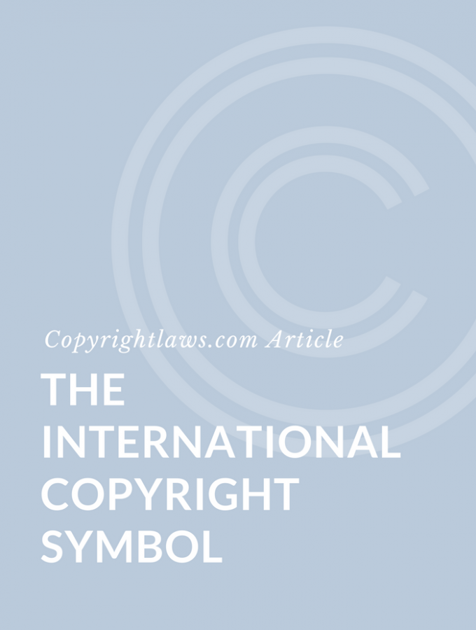 The International Copyright Symbol