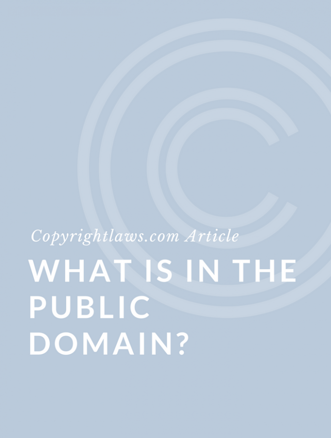 What Is The Public Domain?
