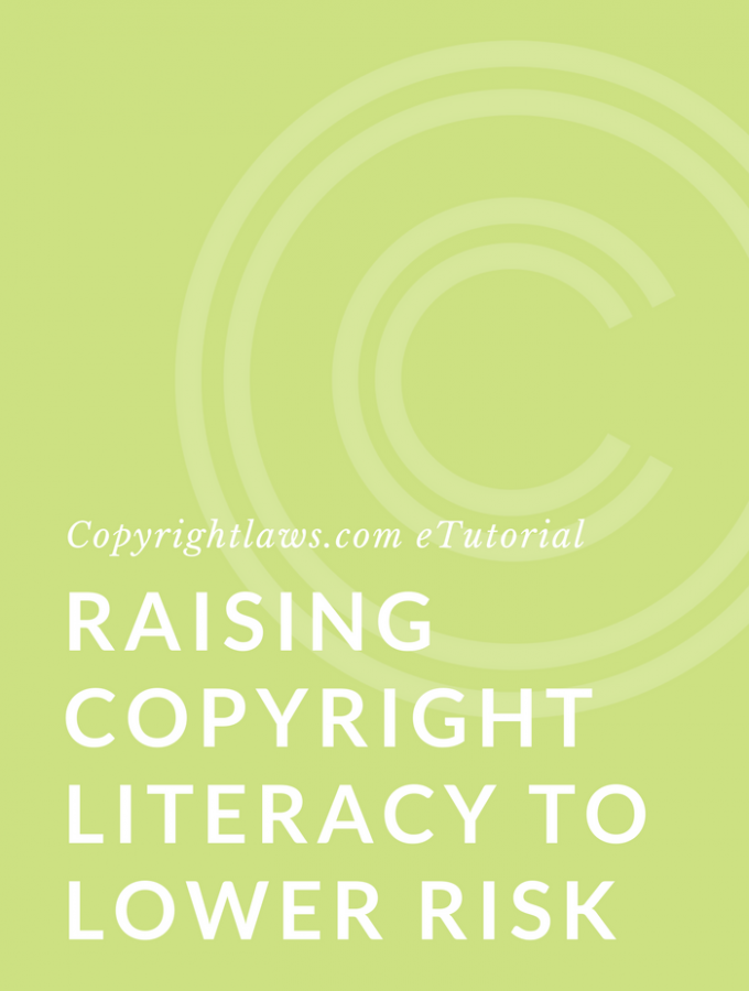 raising copyright literacy to lower risk course
