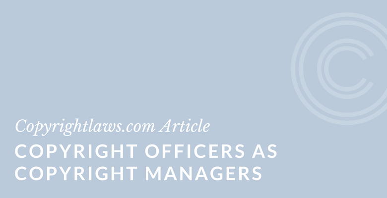 Tips for copyright librarians and copyright officers