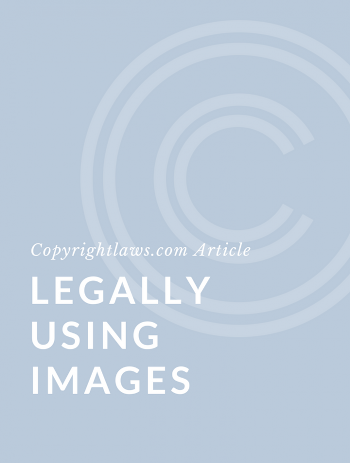 Legally Using Images