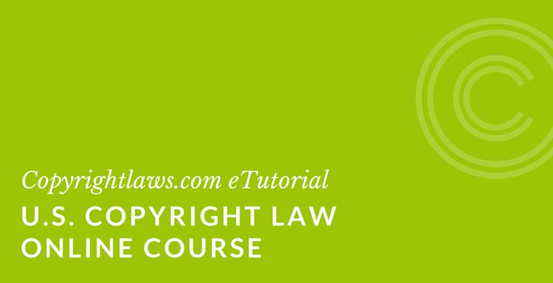 Online primer on US Copyright Law