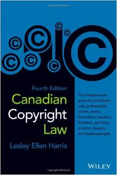 Book on Canadian Copyright Law