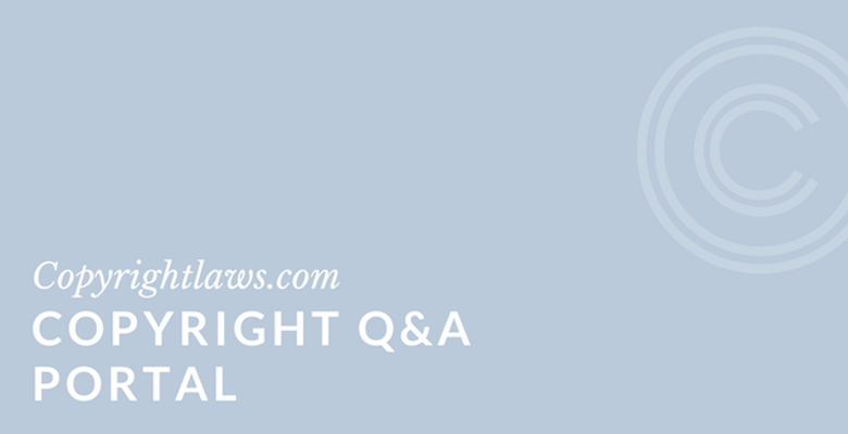 Copyright Q&A Portal ❘ Copyrightlaws.com