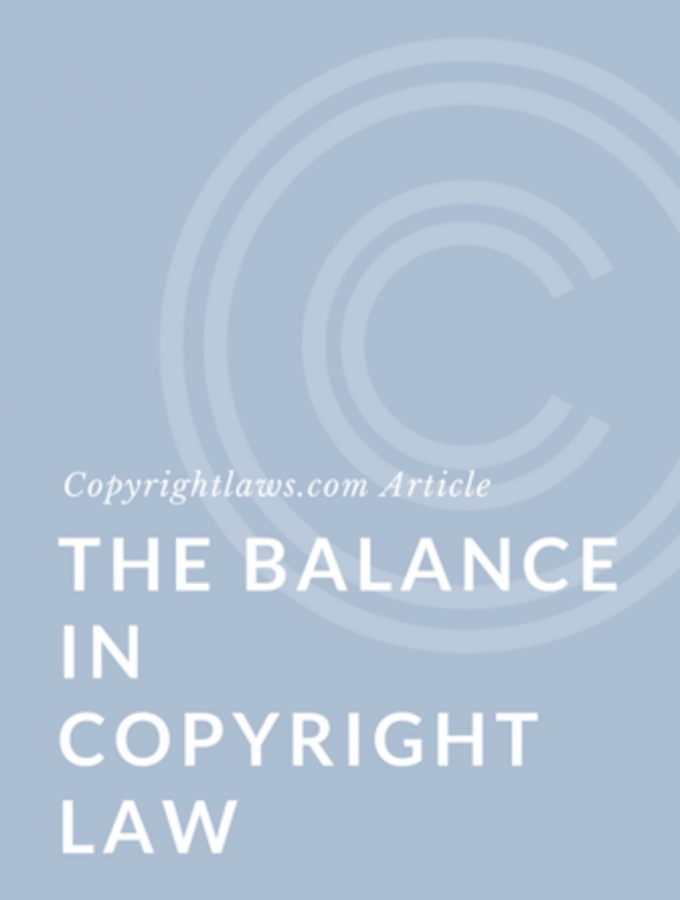 The Balance in Canadian Copyright Law