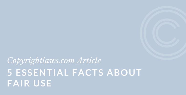 Fair use facts