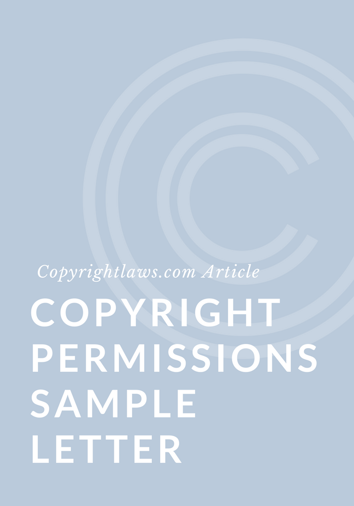 copyright permissions sample letter copyrightlawscom copyright courses and education in plain english