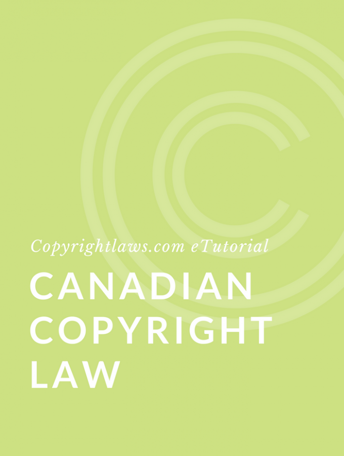 Canadian copyright law course