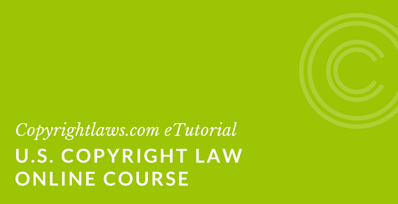 Online primer on US Copyright Law