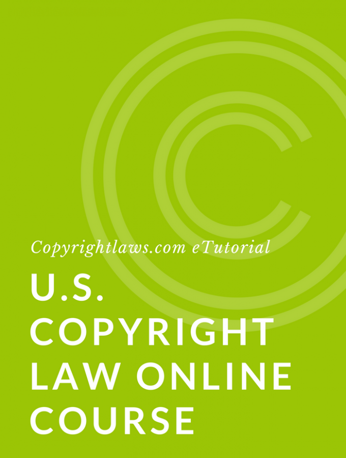 Online course on US copyright law