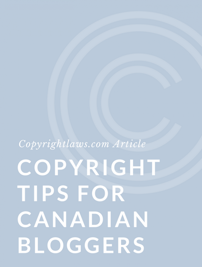 Food Bloggers of Canada: Copyright + Food Blogging