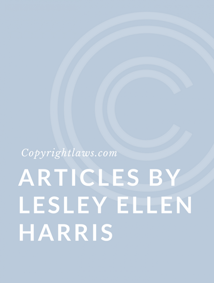 Articles by Lesley Ellen Harris