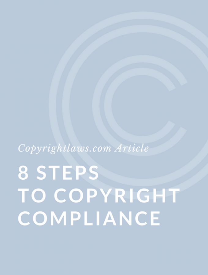 8 Steps to Copyright Compliance