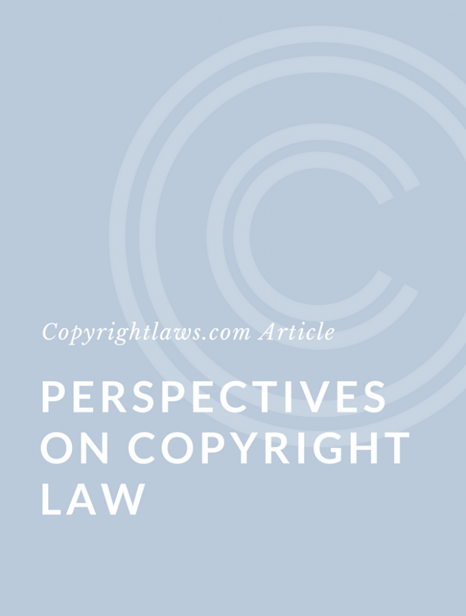 Perspectives on Copyright Law