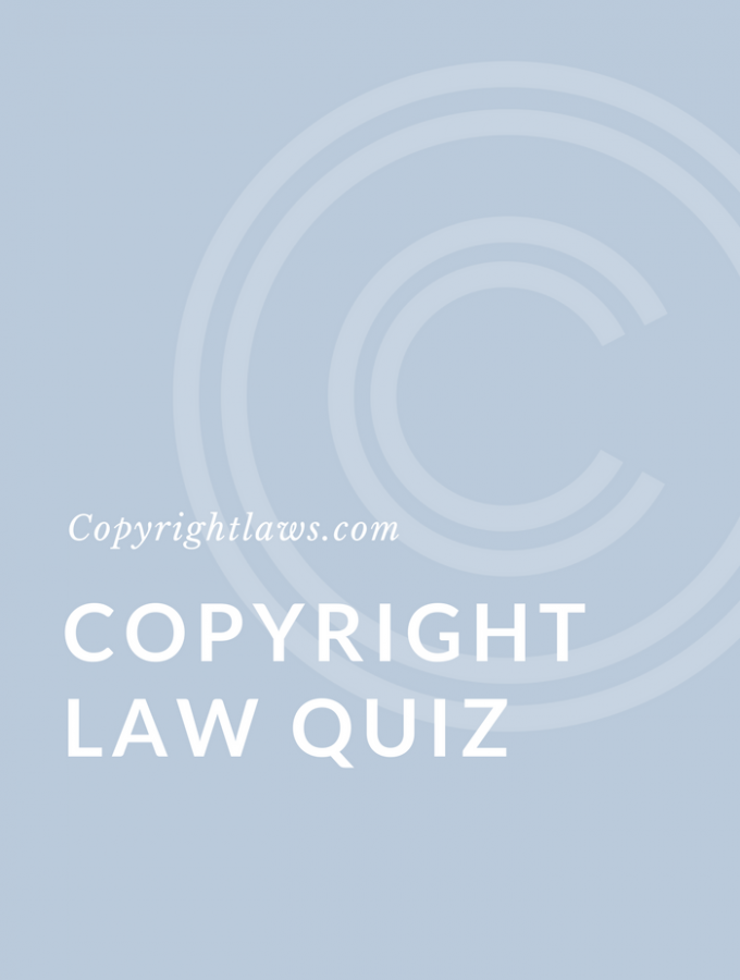 International Copyright Law Quiz