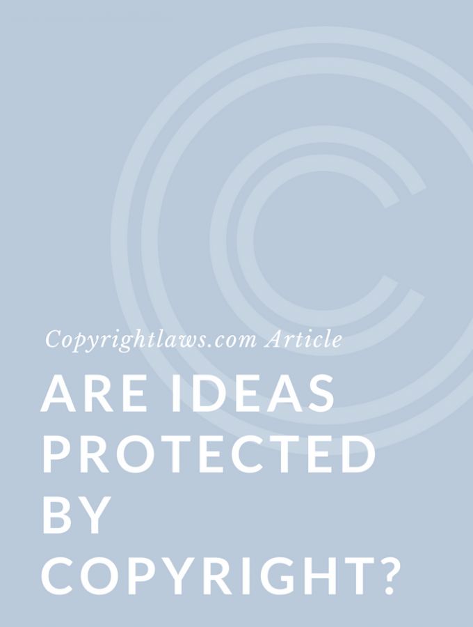 Are Ideas Protected by Copyright Law?