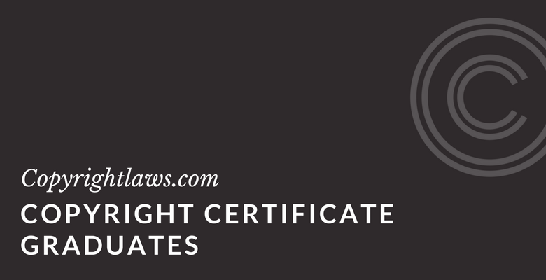List of copyright certificate graduates