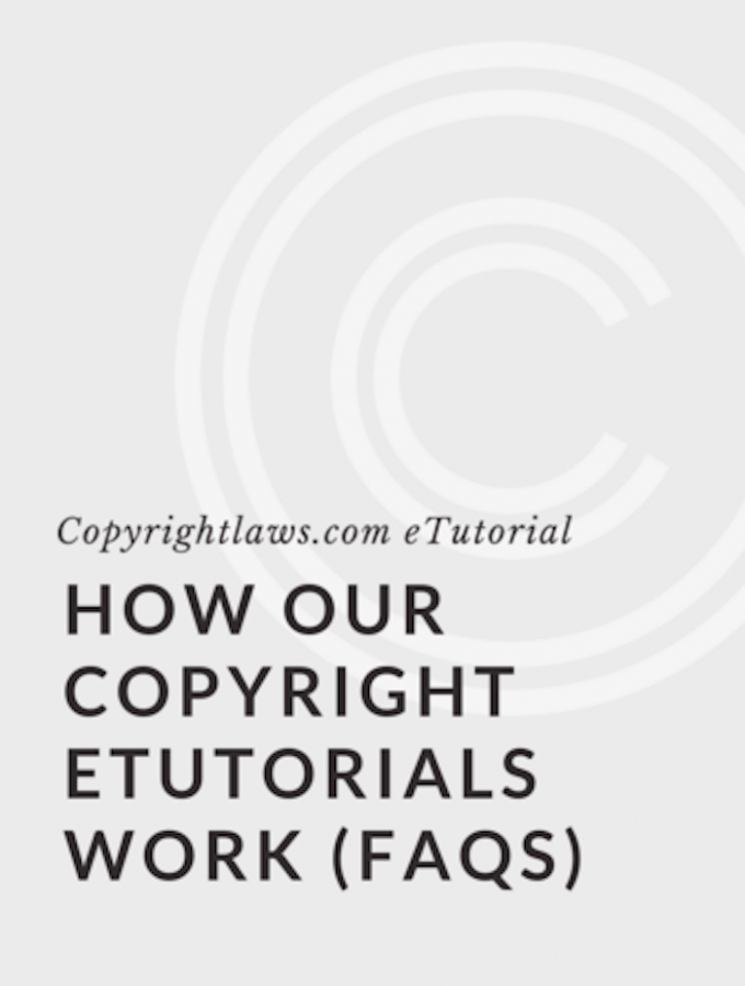 Online copyright courses