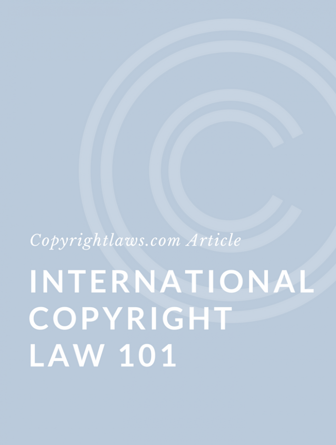 Introduction to International Copyright Law