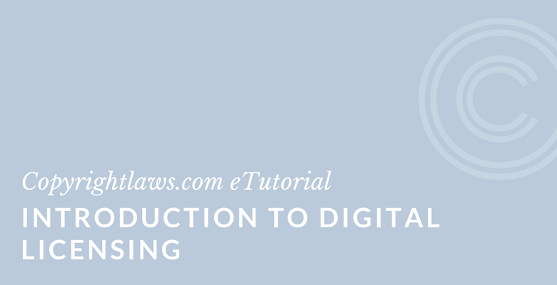 Introduction to Digital Licensing online course