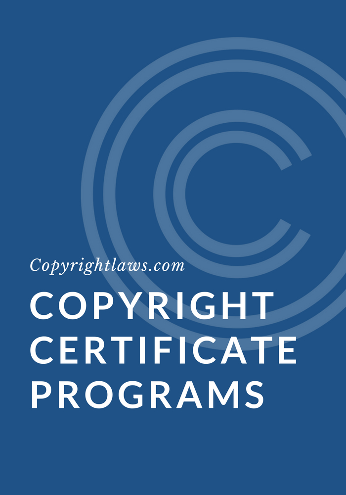 Copyright Certificate Programs Copyrightlaws Copyright