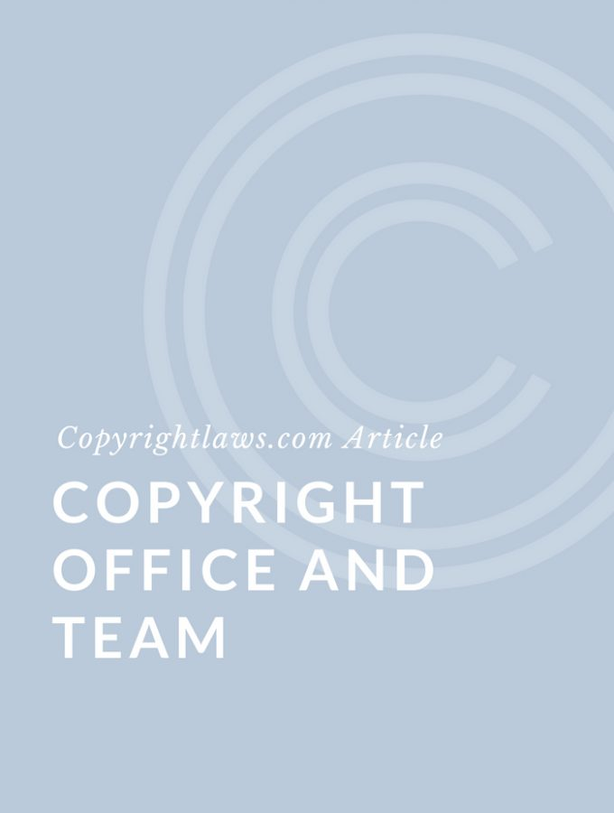 Copyright Office and Team