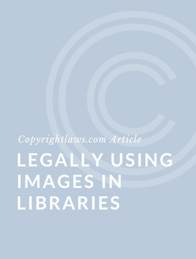 Legally Using Images in Libraries