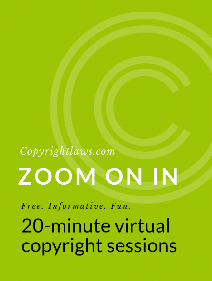 Zoom On In: Virtual Copyright Sessions