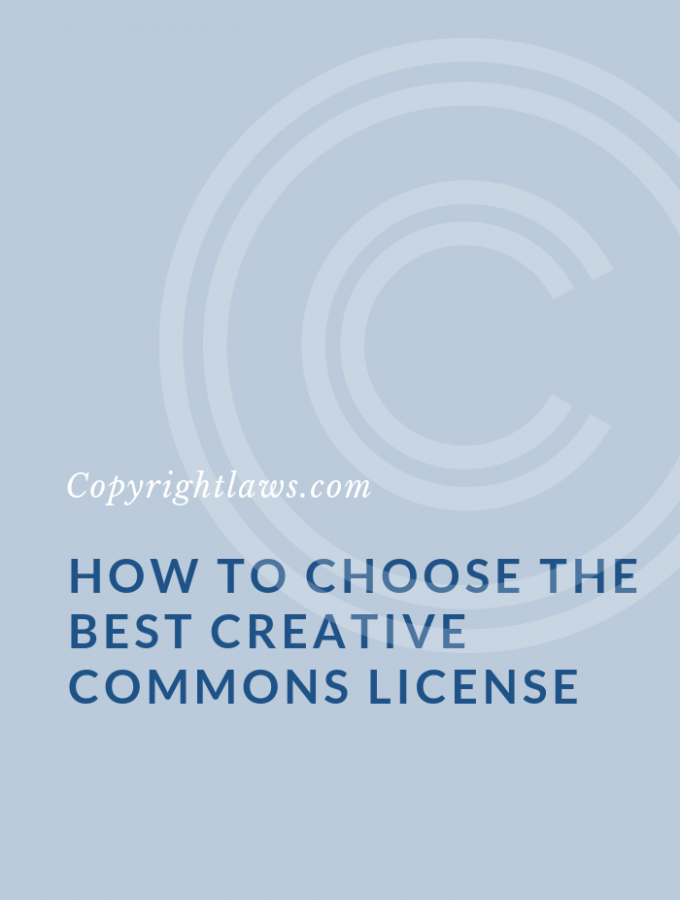 Creative Commons Licenses: How to Choose the Best CC License