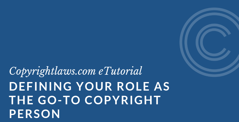Online course for copyright librarians and copyright officers