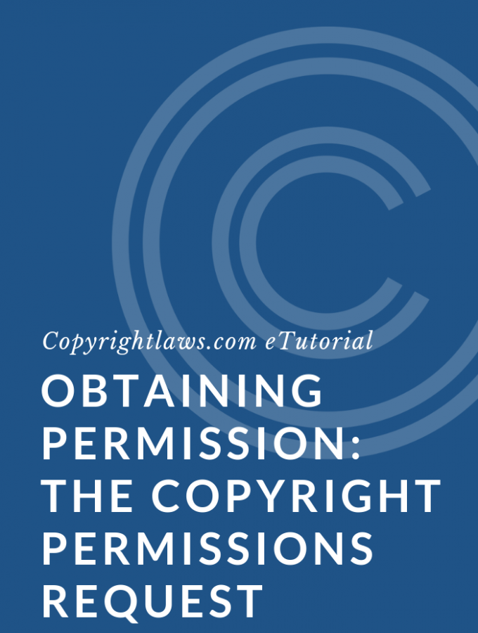 Copyright permissions sample letter request