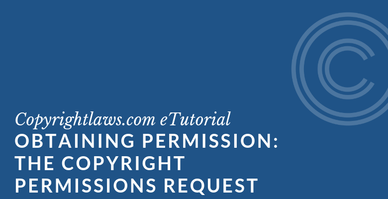 Sample copyright permissions letter