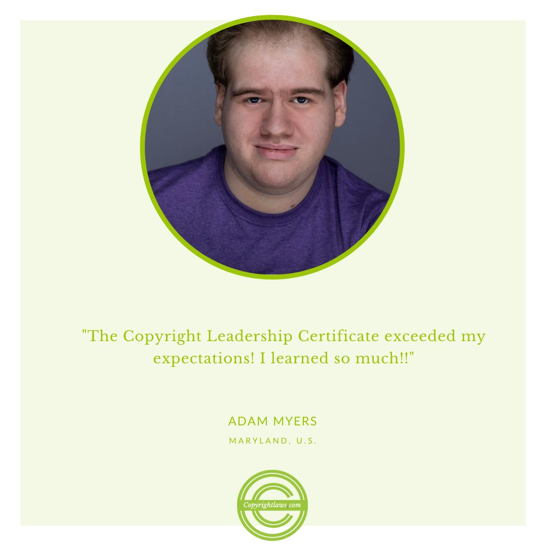 Online copyright courses